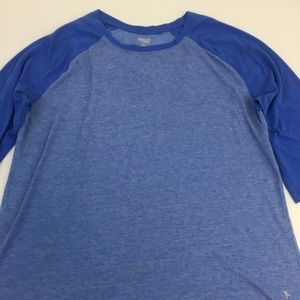 Danskin Raglan Shirt Active Gym Size XL